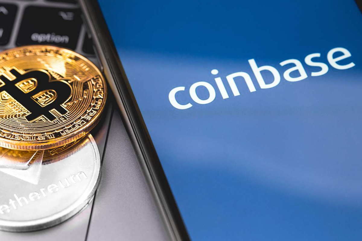 Cryptocurrency buying and selling startup, Coinbase, makes its first public appearance on Nasdaq and shares soar by nearly USD$100 billion.