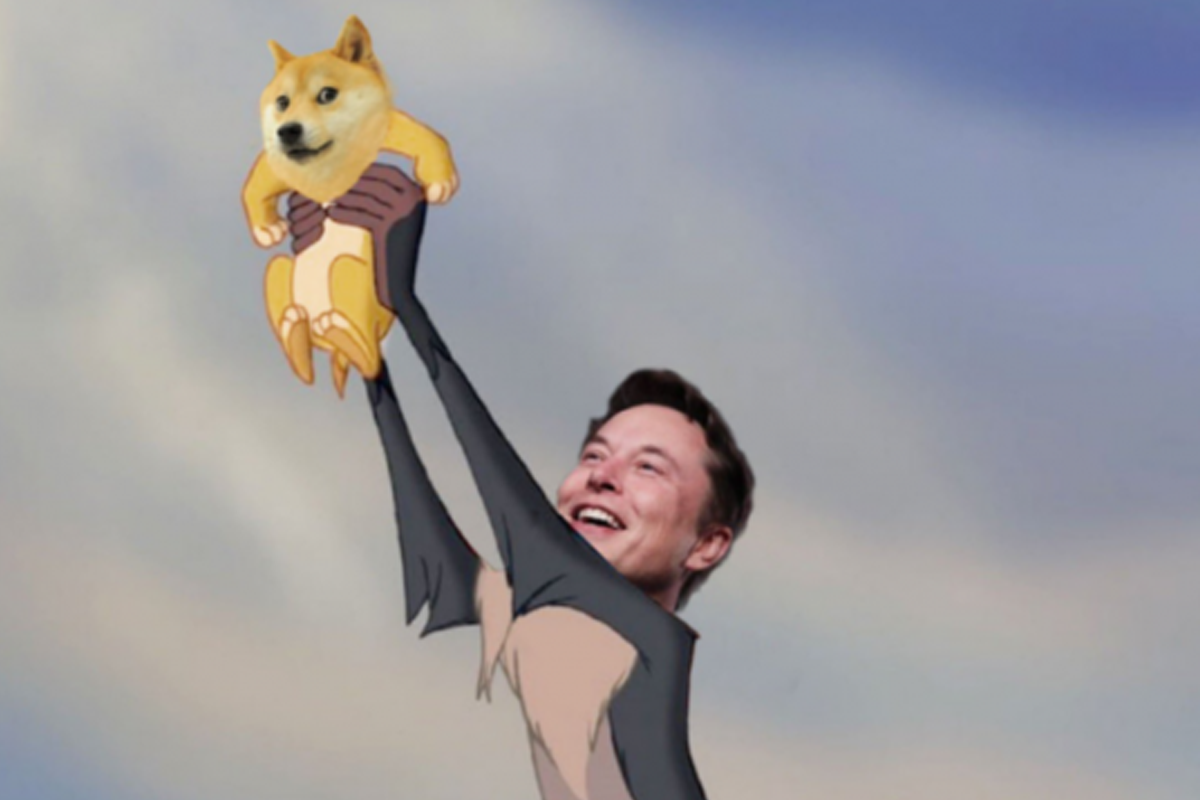 Elon Musk, the CEO of Tesla and SpaceX tweeted and the cryptocurrency quote Dogecoin (DOGE) increased again. This time, the growth was 75%.
