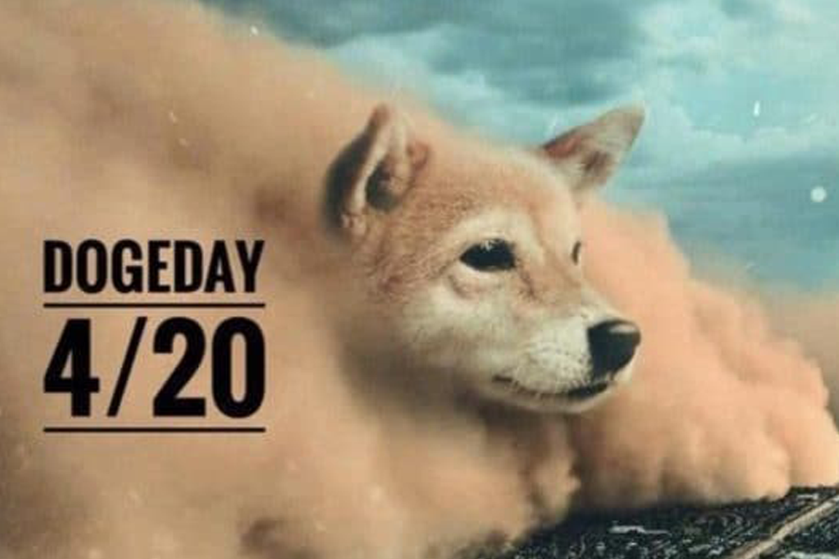 After crypto fans declared April 20 as Doge Day, Dogecoin, the meme currency, soared 20% in the cryptocurrency market.