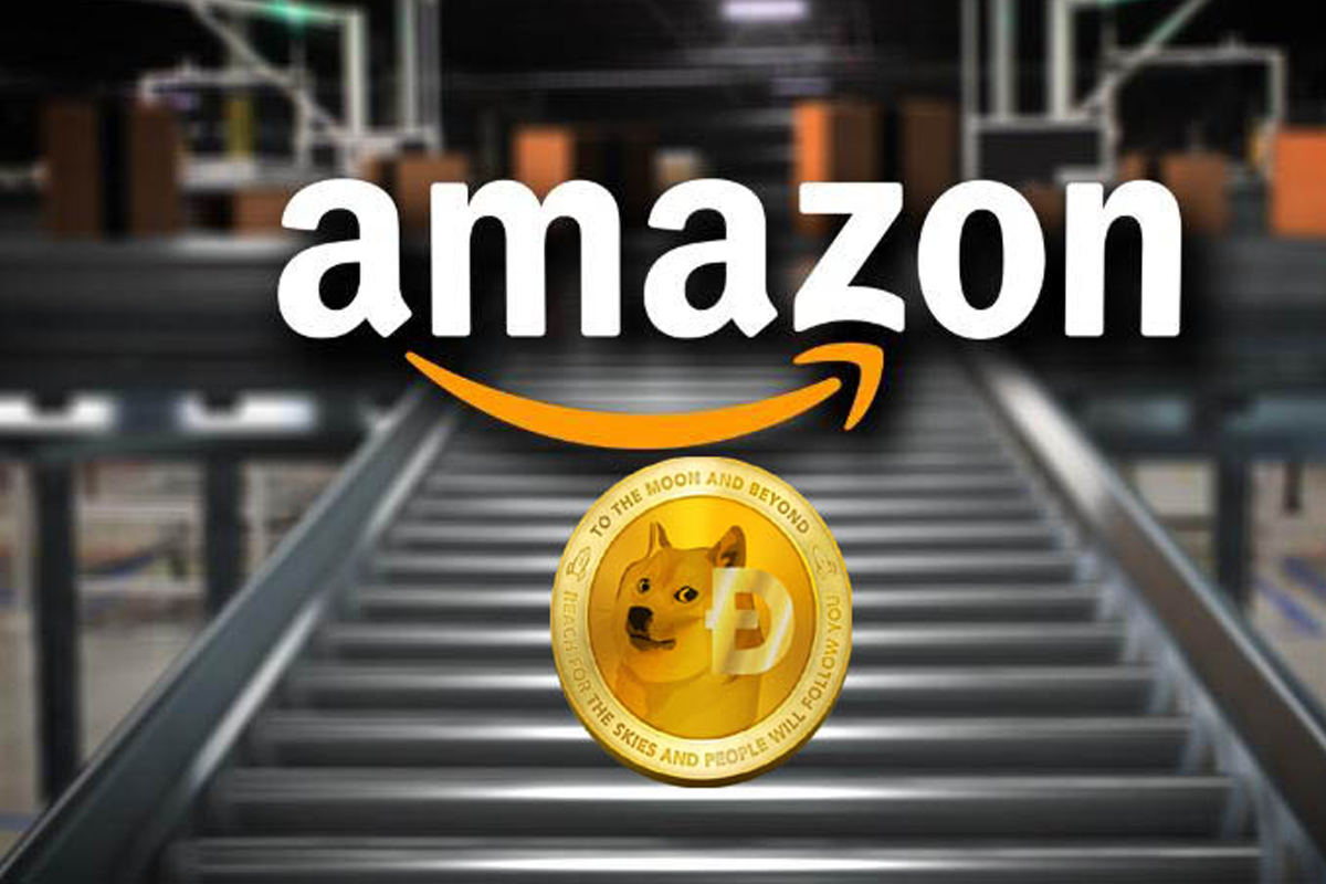 Community asks Dogecoin (DOGE) to be accepted as a payment method on Amazon and petition exceeds 200,000 signatures.