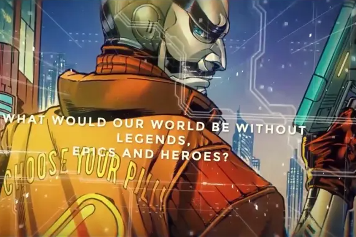 Satoshi Nakamoto, the mysterious creator of Bitcoin, becomes a comic book superhero from Marvel and DC artists.