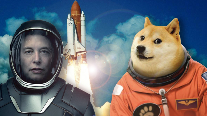 Ellon Musk, nicknamed Dogefather by the DOGE community, tweets about his participation on SNL and the price of the cryptocurrency soars again.