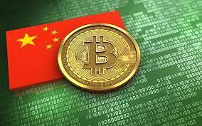 green bitcoin and china