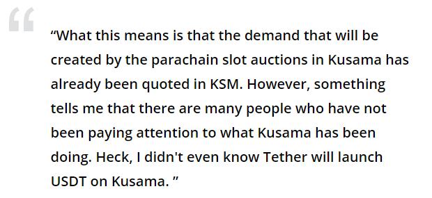 Coin Bureau opinion about Kusama Coin. Source: Cointelegraph.