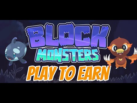 Block Monsters Ready To Unleash Booster Packs For Players To Battle And Collect NFT Monsters