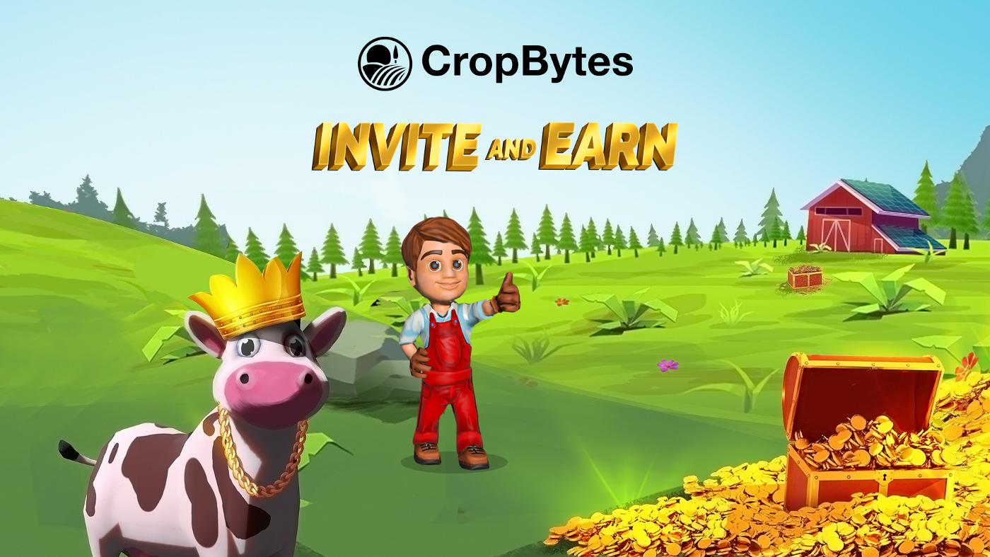 CropBytes NFT -spilhoveder til tokenlancering med Strong Økonomi
