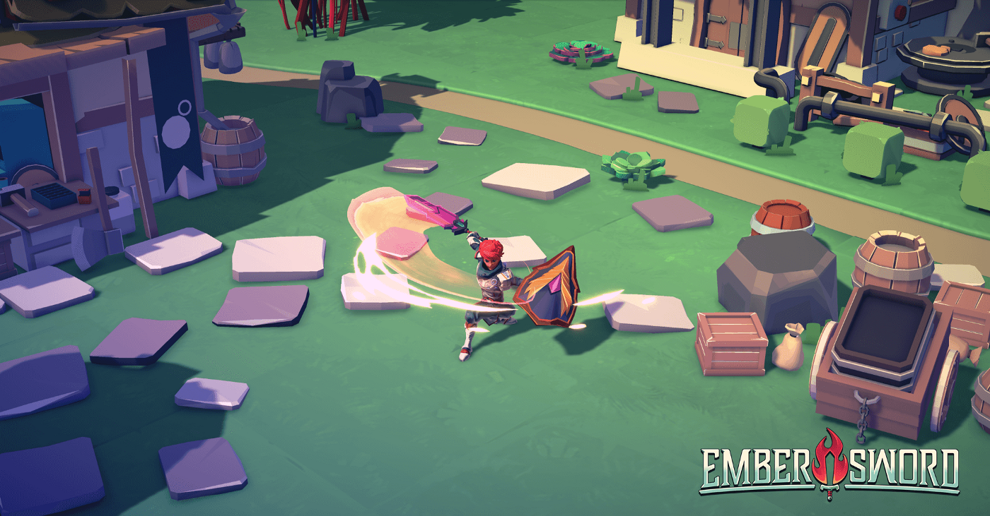 Ember Sword Free-To-Play Fantasy NFT Game